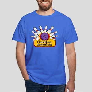 Bowling Custom Dark T-Shirt