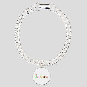 Jaime Balloons Charm Bracelet