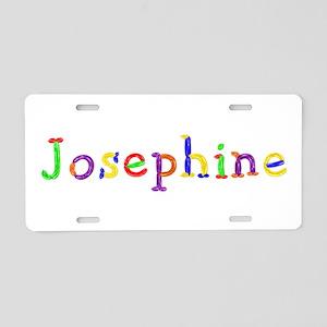 Josephine Balloons Aluminum License Plate