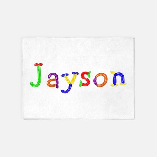 Jayson Balloons 5'x7' Area Rug