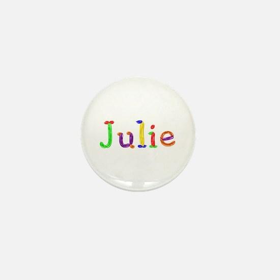 Julie Balloons Mini Button