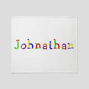 Johnathan Balloons Throw Blanket