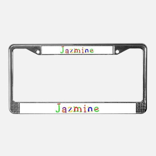 Jazmine Balloons License Plate Frame