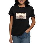 FUEL PRICE HUMOR Women's Dark T-Shirt