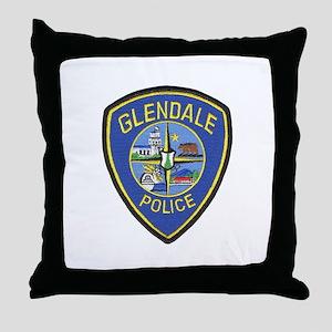Glendale Police Throw Pillow