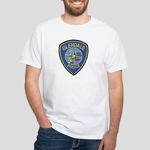 Glendale Police White T-Shirt