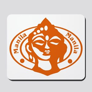 Manilla Passport Stamp Mousepad