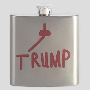 Fuck You Trump Flask