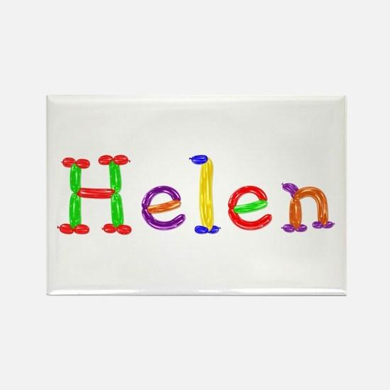 Helen Balloons Rectangle Magnet