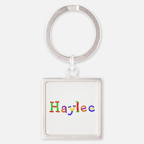 Haylee Balloons Square Keychain
