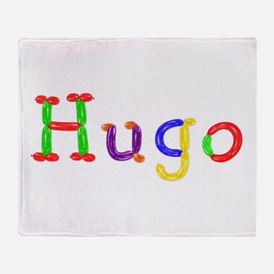 Hugo Balloons Throw Blanket