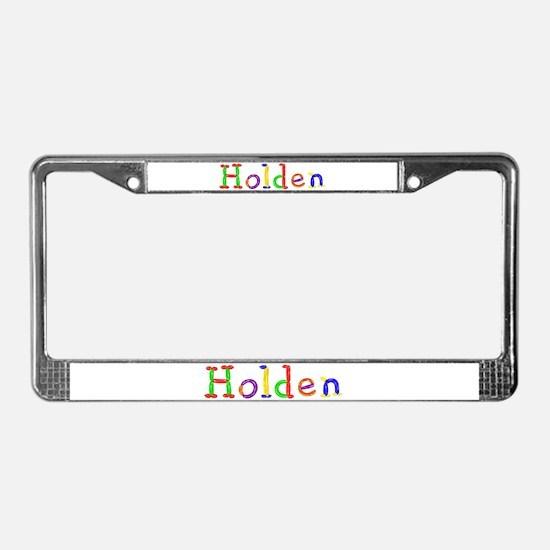 Holden Balloons License Plate Frame