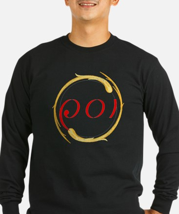 Fire Poi Long Sleeve T-Shirt