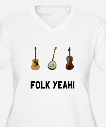 Folk Yeah Plus Size T-Shirt