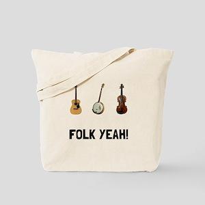 Folk Yeah Tote Bag