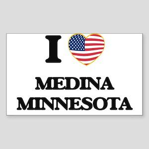 I love Medina Minnesota Sticker
