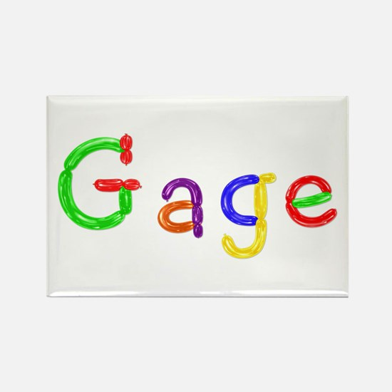 Gage Balloons Rectangle Magnet