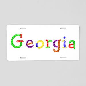 Georgia Balloons Aluminum License Plate