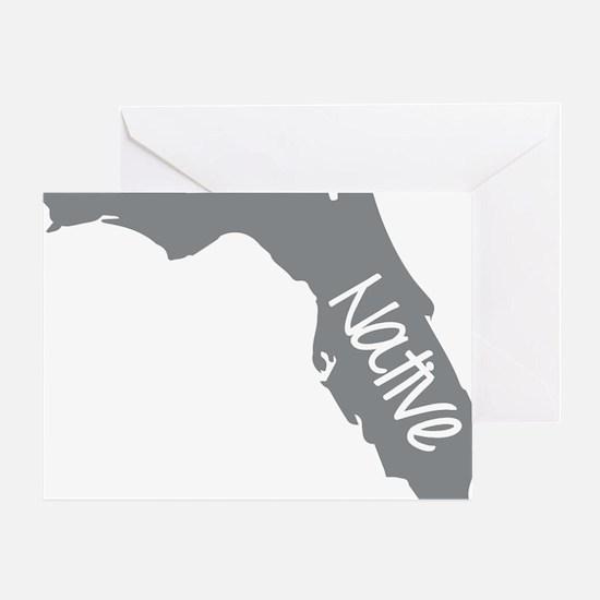 Cool Florida Greeting Card