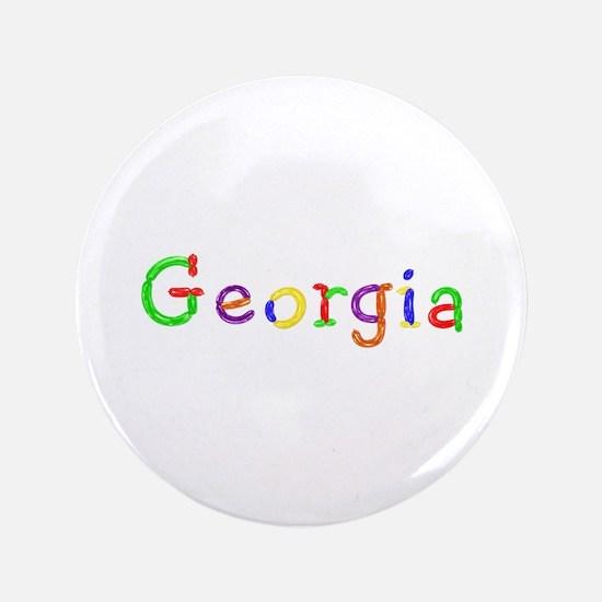 Georgia Balloons Big Button