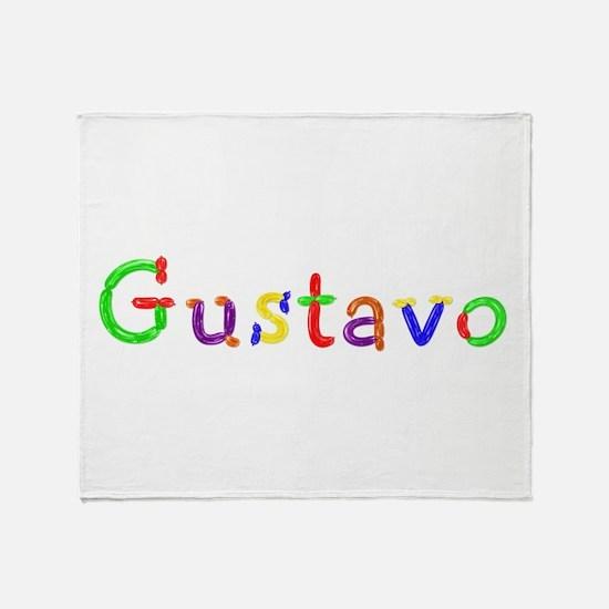 Gustavo Balloons Throw Blanket