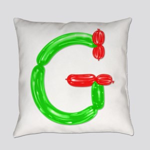 G Balloons Everyday Pillow