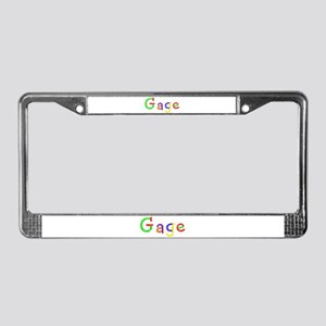 Gage Balloons License Plate Frame