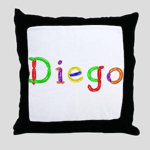 Diego Balloons Throw Pillow