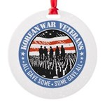 Korean War Veterans Ornament