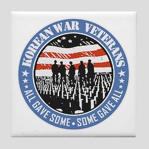 Korean War Veterans Tile Coaster