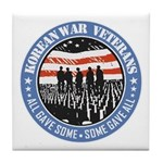 Korean War Veterans Tile Coaster
