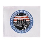 Korean War Veterans Throw Blanket