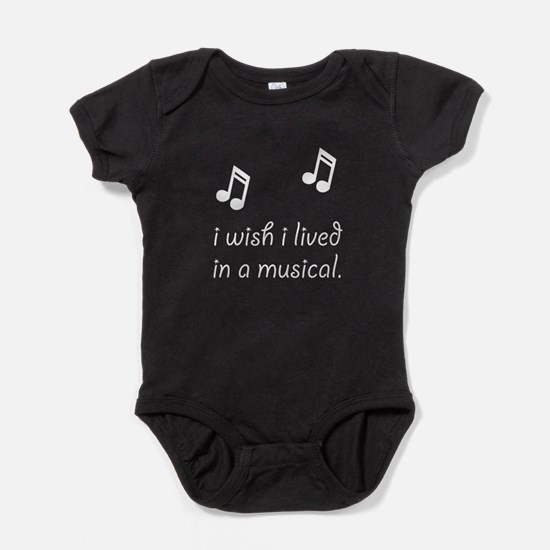 Live In Musical Baby Bodysuit