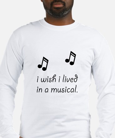 Live In Musical Long Sleeve T-Shirt
