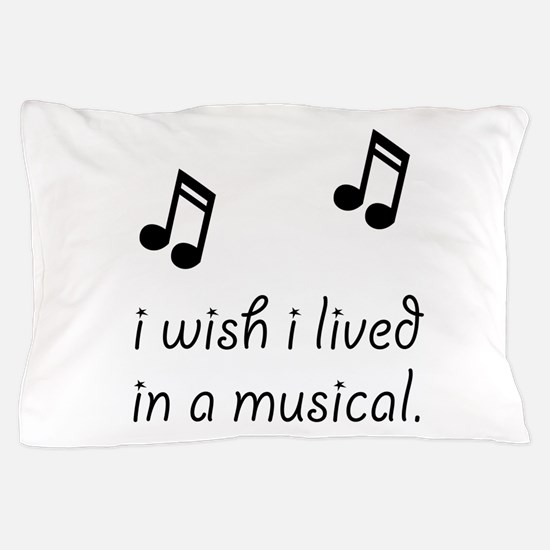 Live In Musical Pillow Case