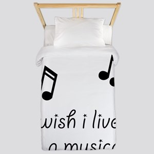 Live In Musical Twin Duvet