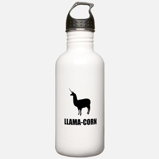 Llama Corn Water Bottle