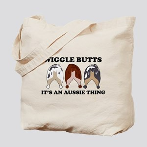 Aussie Wiggle Butts Tote Bag