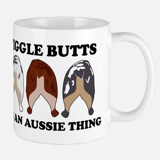 Aussie Wiggle Butts Mug