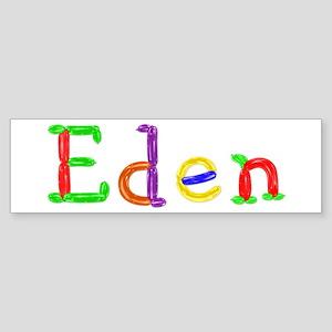 Eden Balloons Bumper Sticker