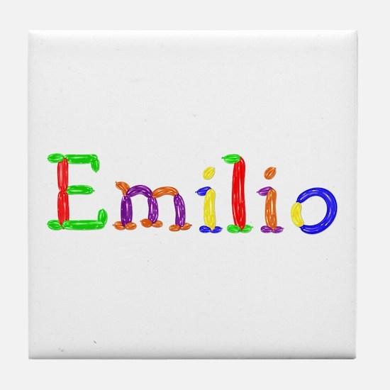 Emilio Balloons Tile Coaster