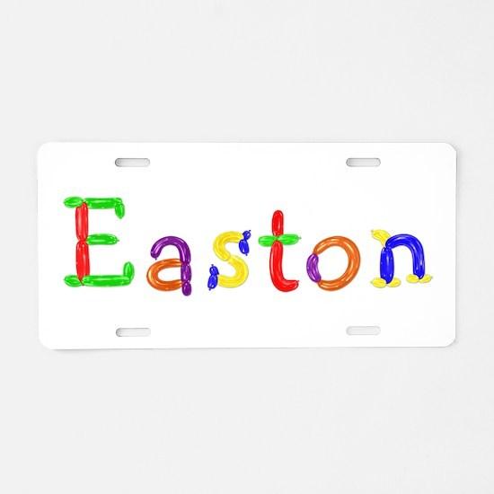 Easton Balloons Aluminum License Plate