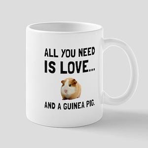Love And A Guinea Pig Mugs
