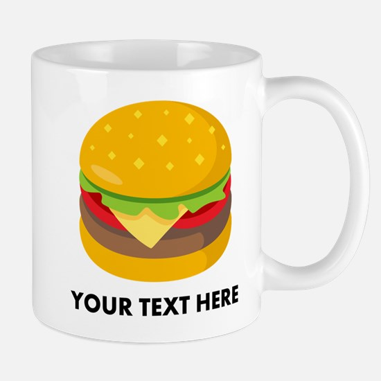 Emoji Personalized Cheeseburger Mug