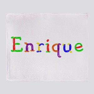Enrique Balloons Throw Blanket