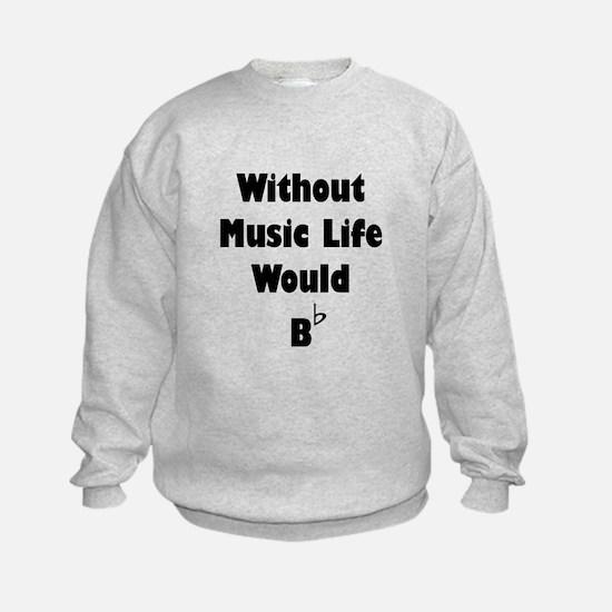 Music B Flat Sweatshirt