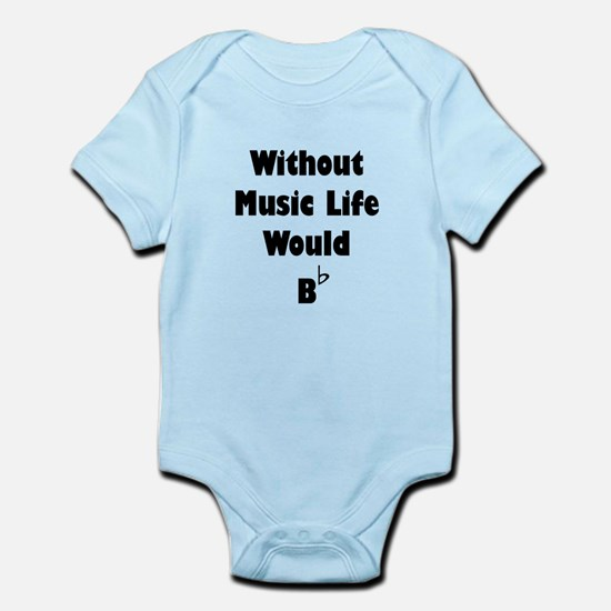 Music B Flat Body Suit