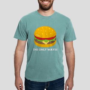 Emoji Cheeseburger The O Mens Comfort Colors Shirt