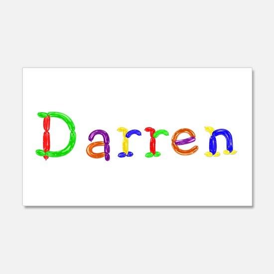 Darren Balloons 20x12 Wall Peel