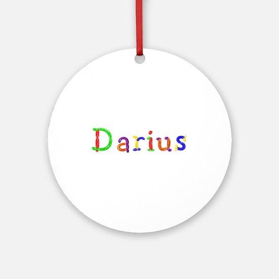 Darius Balloons Round Ornament
